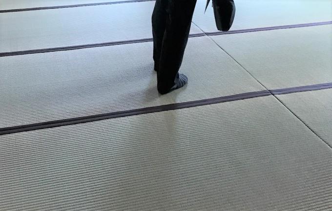 真新しい畳