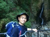 二重滝にて